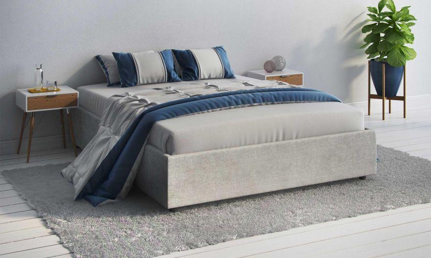Кровать Scandinavia (без изголовья) с подъемным механизмом | Сонум
