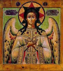 Икона Спас Благое Молчание (17 век)