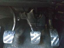 Накладки на педали, алюминиевые, а/м с Мкпп