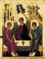 Икона Троица (15 век)