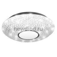 Управляемый светодиодный светильник AKRILIKA 60W R-510-CLEAR/WHITE-220-IP20 (новый размер)