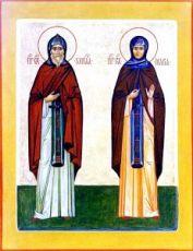 Икона Кирилл и Мария Радонежские