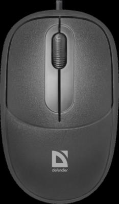 НОВИНКА. Проводная оптическая мышь Datum MS-980 черный,3 кнопки,1000dpi