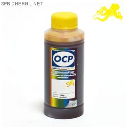 Чернила ОСР 9151 Y для картриджей HP#761, 100 g