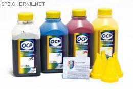 Комплект чернил OCP для HP #934/935 (BKP/СP/MP/YP 225), 500 gr x 4