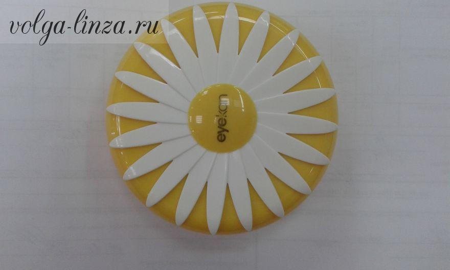 Дорожный набор для контактных линз Ромашка