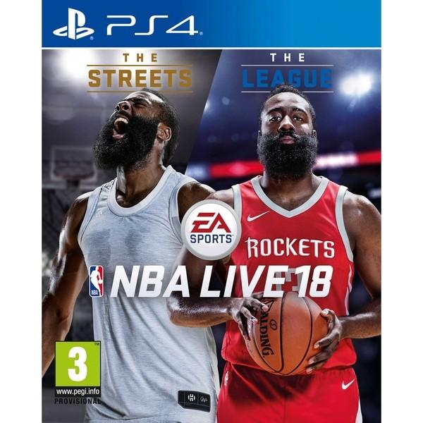 Игра NBA Live 18 (PS4)