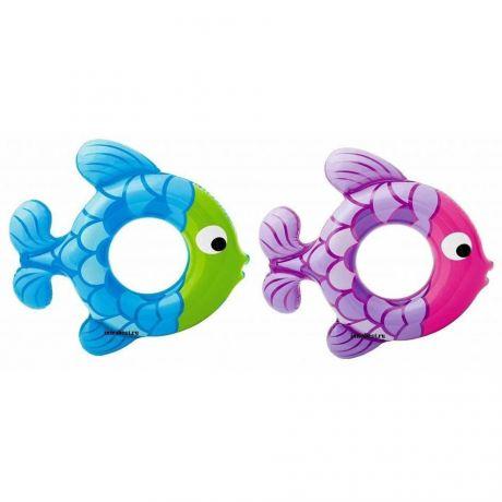 """Детский надувной круг """"Рыбка"""" Intex 59222"""