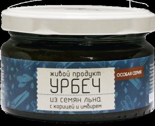 """ЖивПрод"" Урбеч из семян льна с корицей и имбирем"