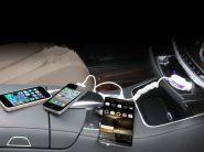 Автомобильная USB зарядка 3 в 1
