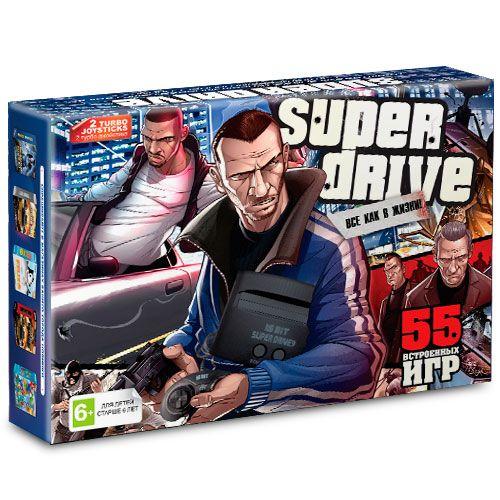 Sega Super Drive GTA (55-in-1)