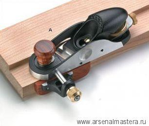 Рубанок торцовочный с косым ножом и упором правый Veritas Skew Block Plane 05P76.01 М00003048