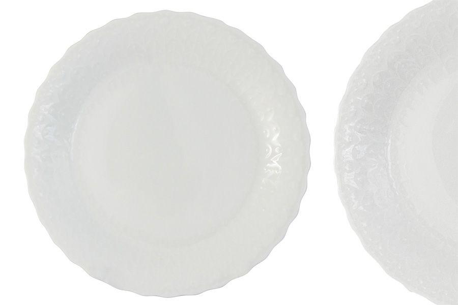 "Набор из 6 обеденных тарелок ""Шёлк"", 27 см"