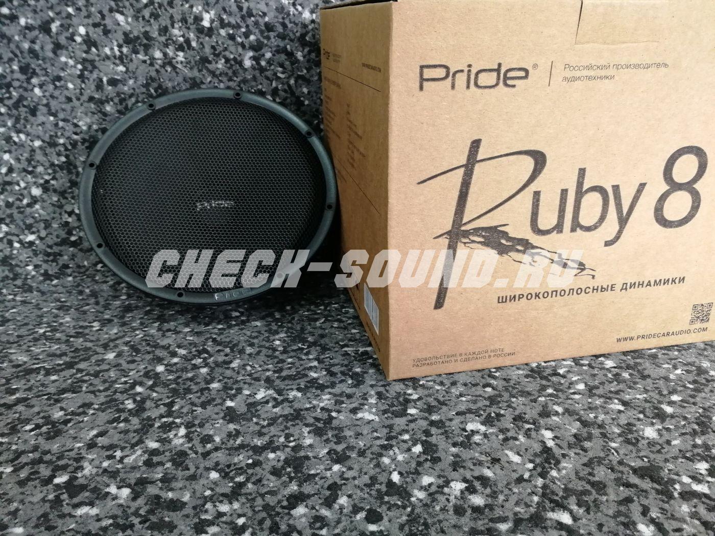 "Pride Ruby 8"""