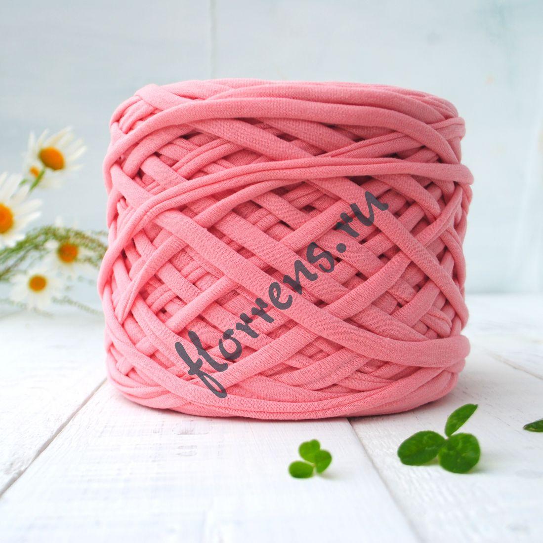 Трикотажная пряжа / розовый кварц