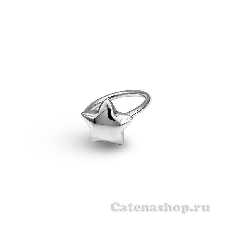 """Кольцо серебряное """"Звезда"""""""