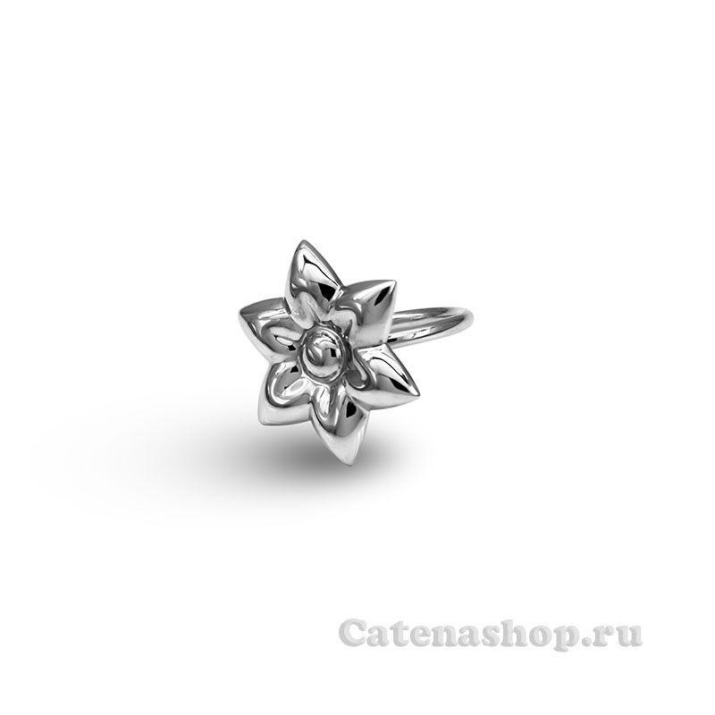 """Кольцо серебряное """"Жасмин """""""