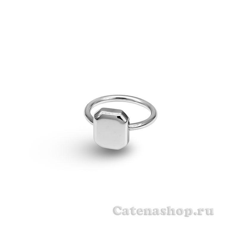 """Кольцо серебро """"Многоугольник"""""""