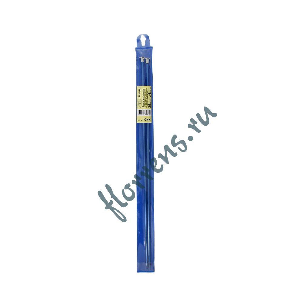 Спицы цветные, 4.0 мм - синие