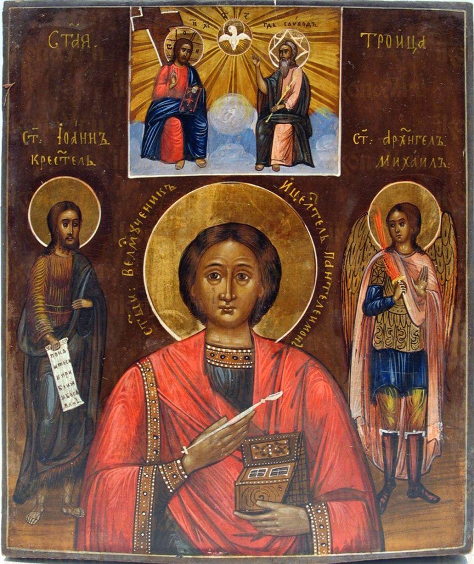 Икона Пантелеймон Целитель