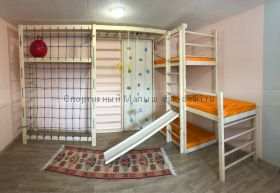 Спорткомплекс с тремя спальными местами