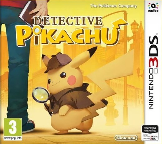 Игра Detective Pikachu (Nintendo 3DS)