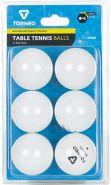 Мячи для настольного тенниса Torneo, 6 шт TI-BWT200