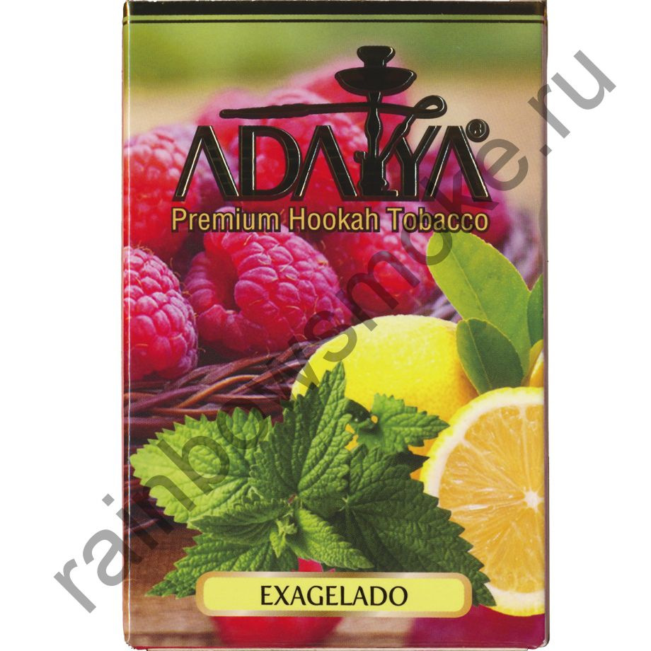 Adalya 50 гр - Exagelado (Малина, Лимон и Мята)