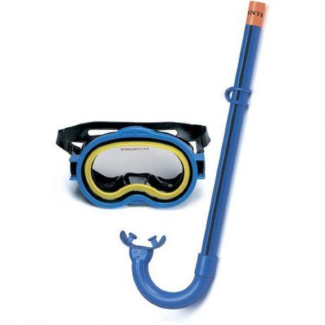 55942-Маска для подводного плавания - ADVENTURER (с трубкой, 3-10 лет)