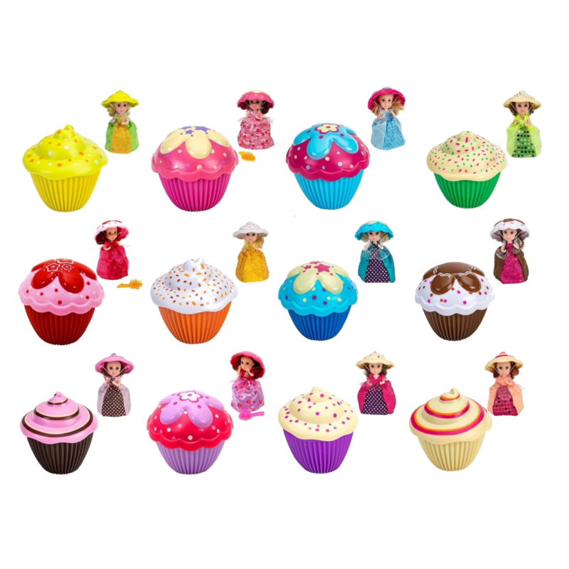 Mini Cupcake Surprise. Кукла мини капкейк 12 видов в ассортименте