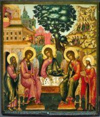 Троица (копия старинной иконы)