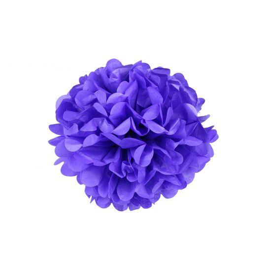 Помпон фиолетовый 15-20 см