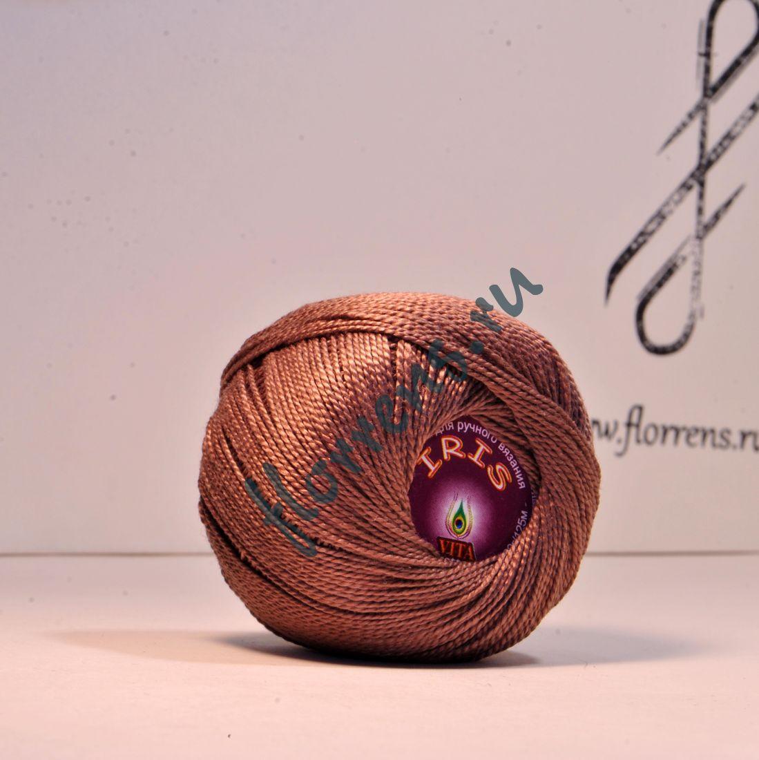 Пряжа Iris / 2105 коричневый