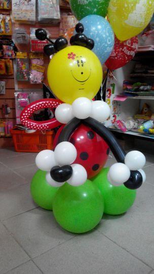 Божья коровка фигура из шаров