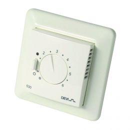 Терморегулятор для теплого пола Devi D-530 ELKO с датчиком пола
