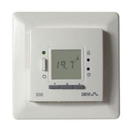 Терморегулятор для теплого пола Devi D-535 ELKO с датчиком пола и воздуха