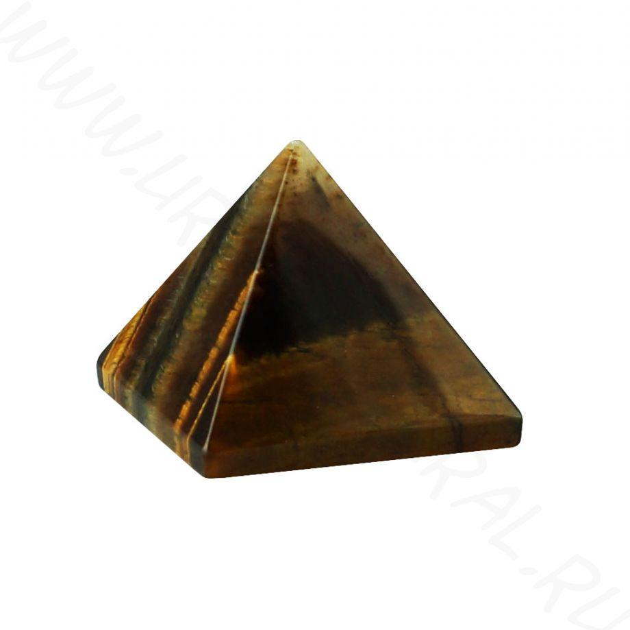 Пирамида - Тигровый глаз