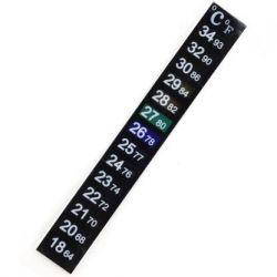 ЖК - термометр самоклеящийся, 18-34 градусов Цельсия