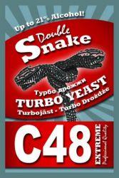 Турбо дрожжи DoubleSnake C48, 130гр