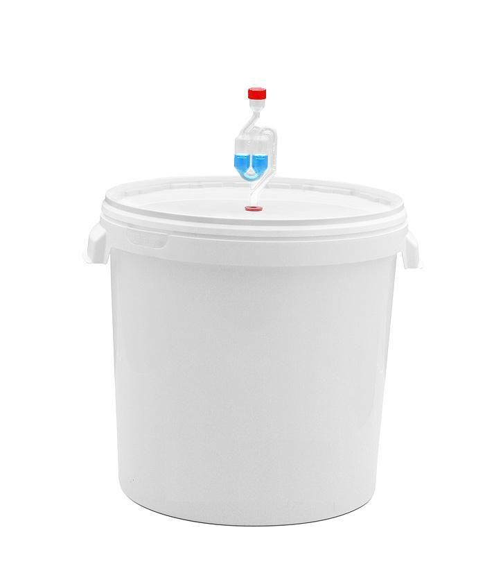 Бродильная емкость 32 литра с гидрозатвором