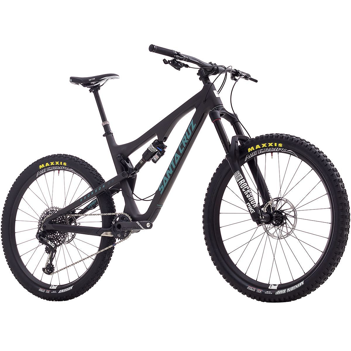 Santa Cruz Bronson CC X01 Eagle Complete Bike 2017 black