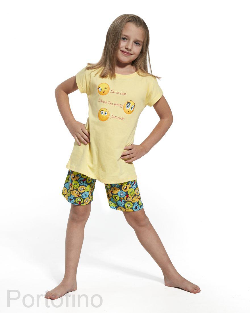787-58 Пижама для девочек Cornette