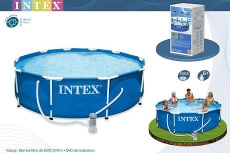 Каркасный бассейн Intex 28212 (56996). Сборный Metal Frame 366 x 76 см