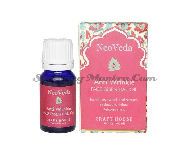 Эфирное масло против морщин НеоВеда | NeoVeda Anti Wrinkle Face Essential Oil