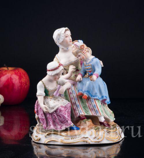 Изображение Женщина с двумя девочками, Royal Wien, Австрия, 1846 гг