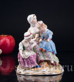 Женщина с двумя девочками, Royal Wien, Австрия, 1846 гг