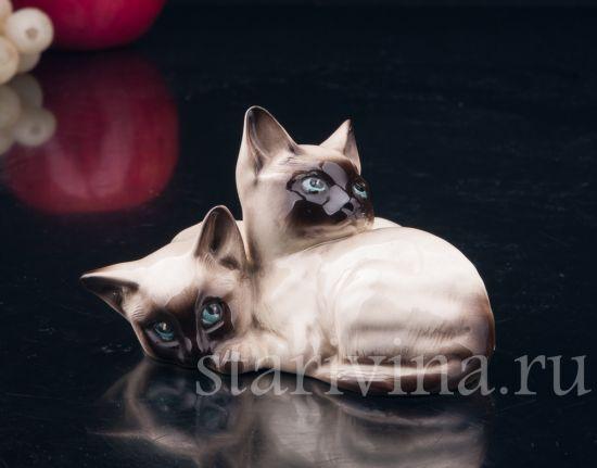Изображение Сиамские котята, Royal Doulton, Великобритания сер. 20 в