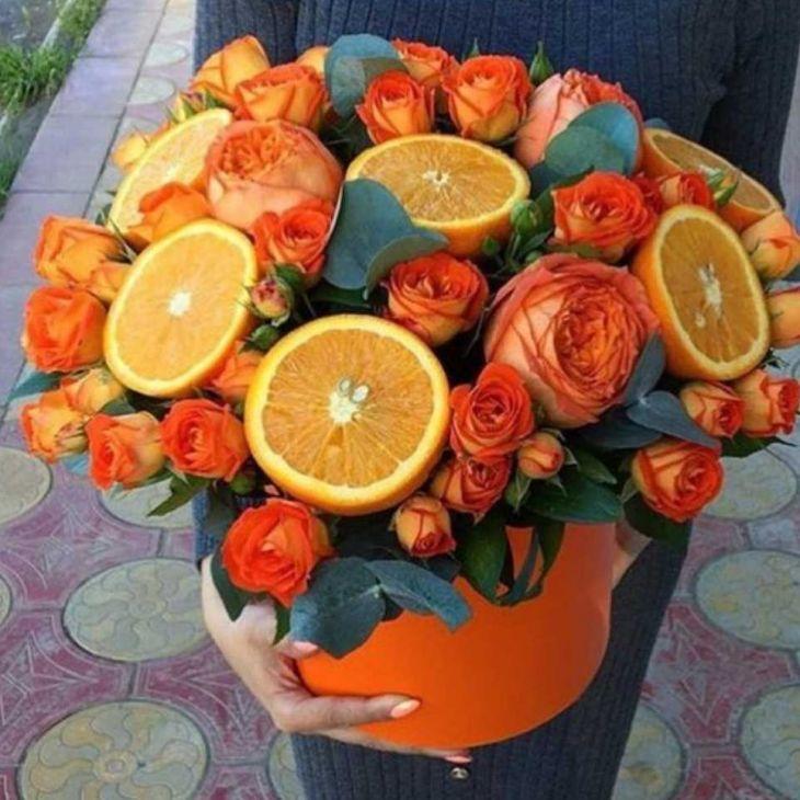 Коробочка -апельсин