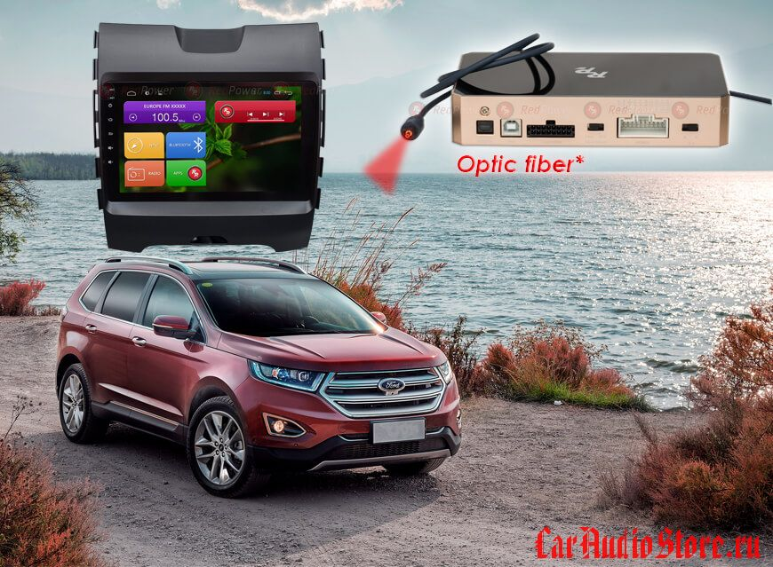 Redpower 31138 R IPS Ford Edge (ANDROID 7)