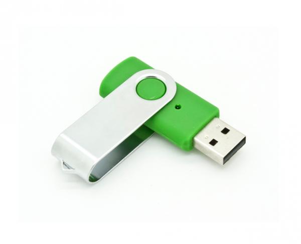 8GB USB-флэш накопитель Apexto U201 раскладной зеленый OEM